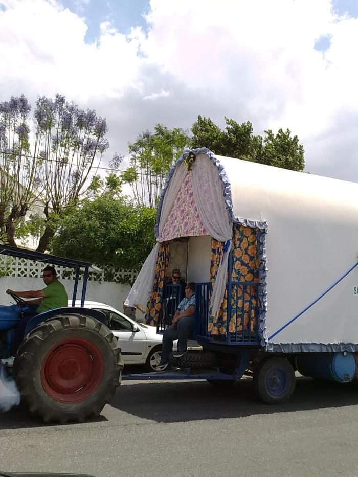 Carretila tractor santi