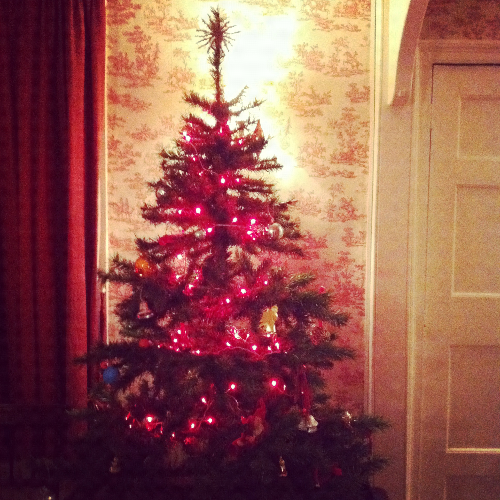 Happy Christmas! The tree chez Watson