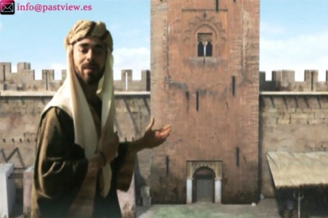 "The Giralda - in Moorish times a minaret, or ""Alminar""."