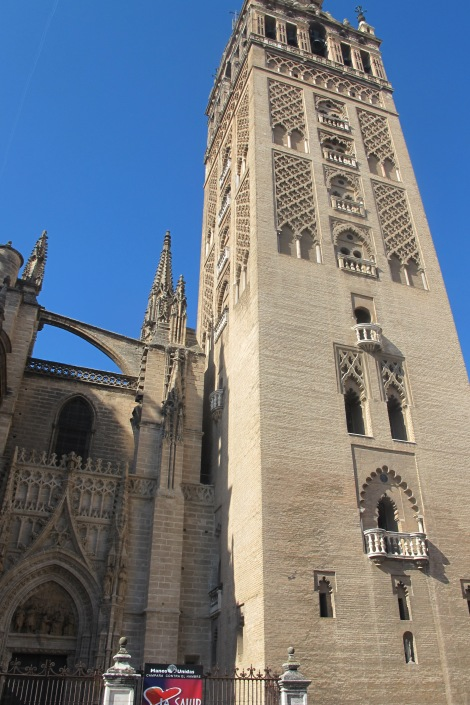 The Giralda today - Seville's most famous building.