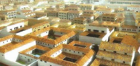 Hispalis - Seville in Roman times.