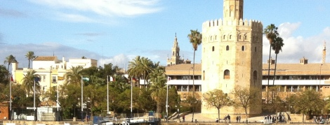 Torre del Oro seen from Triana.