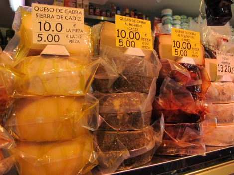 cheese, cadiz, market, Triana, cooking, cookery, Travel&Cuisine