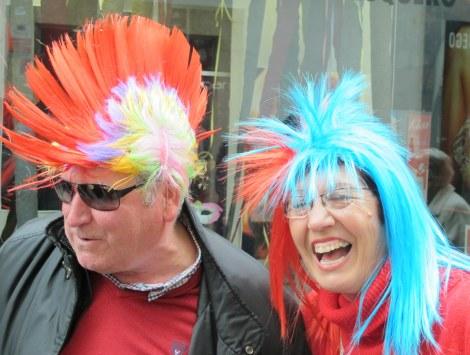 Carnaval, Cadiz, Carnaval de Cadiz, family, mohicans