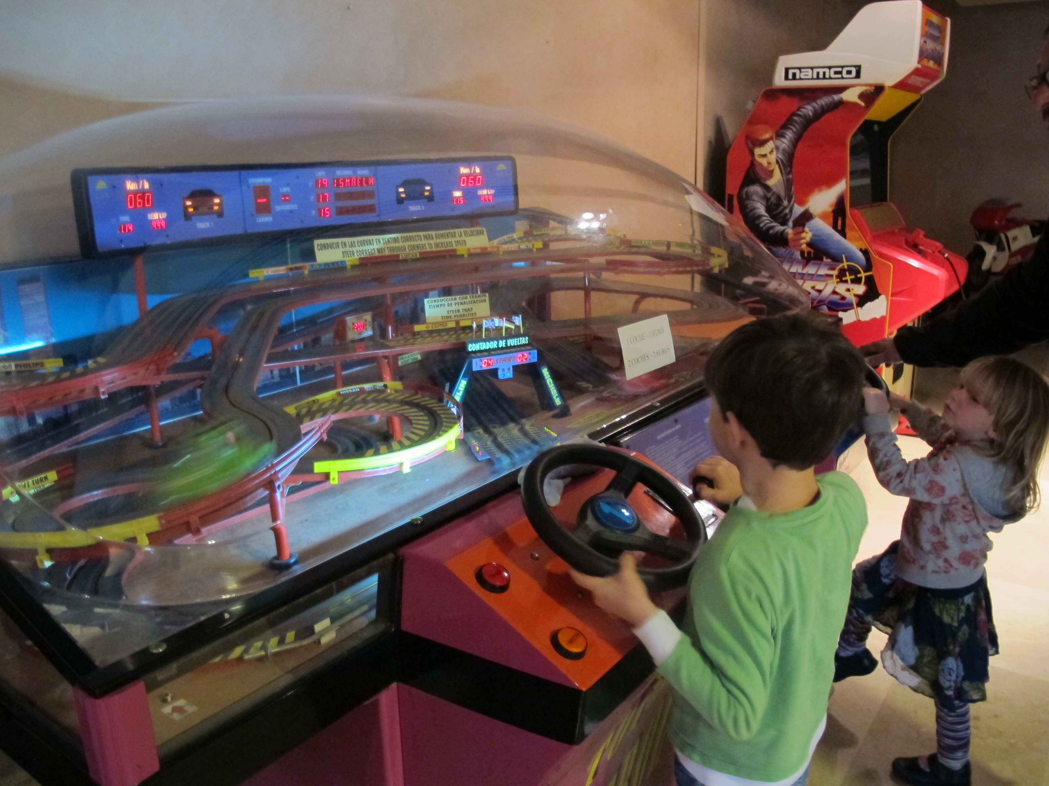 this car racing driving game was a firm favourite with my kids