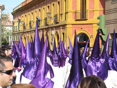 Semana Santa, nazarenos, Jueves Santo, Sevilla