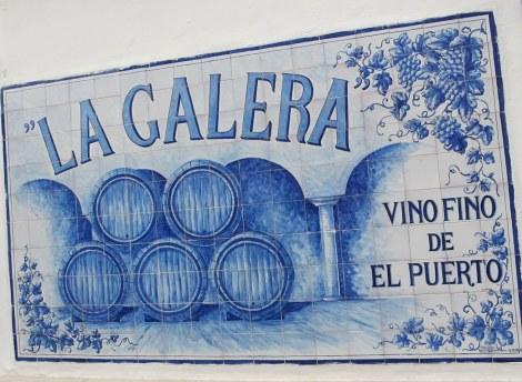 La Galera, sherry, El Puerto de Santa Maria, Cadiz