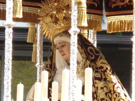 Virgin, Semana Santa, Jueves Santo