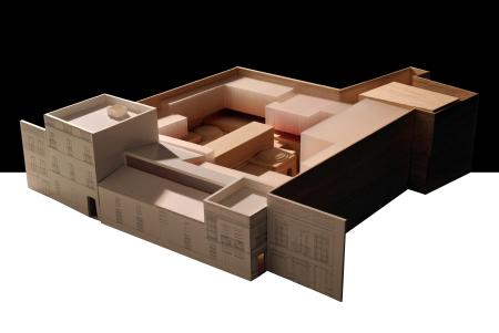 Model of the new centre by architects AF6.