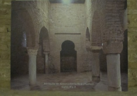 Surviving mosque from the same period as Ibn Adabbas, in Huelva province.