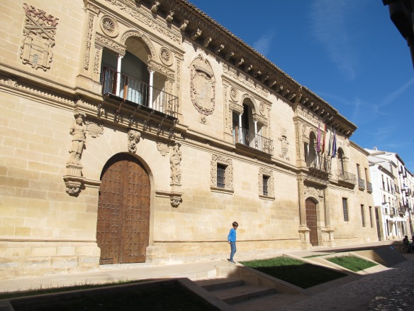 The Ayuntamiento of Baeza.
