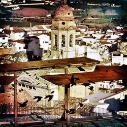 the town of Loja,in Granada province, which Paul brings to life in his book Inside the Tortilla.