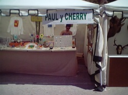 A previous chapter in Paul's life: working in markets on the Costa Tropical.